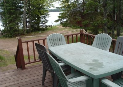 Eagle Haven front deck