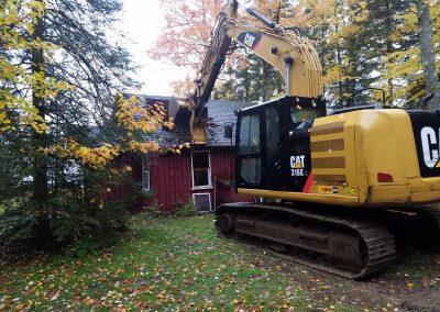 Demolition Starts on Old Lakeview (September 2018)