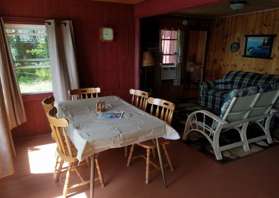 Snug Harbor Dining Area